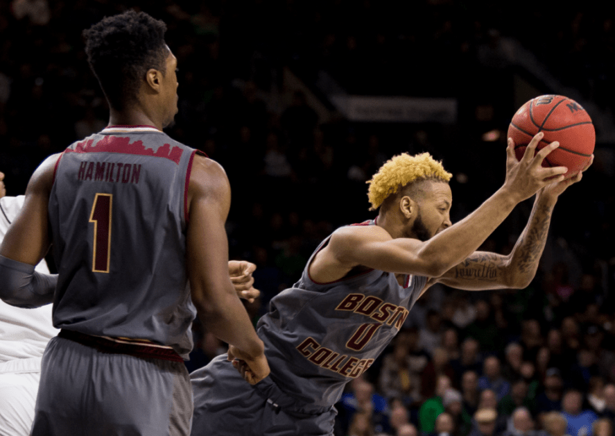 Reed's Scoring Outburst Too Much for BC to Overcome at Clemson