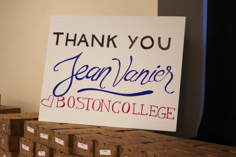 Vanier Presents Messages on Love, L'Arche Communities