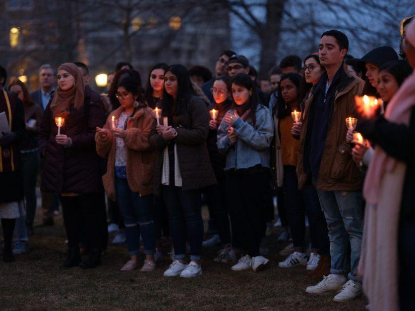 Muslim Student Association Hosts Vigil After Christchurch Attack