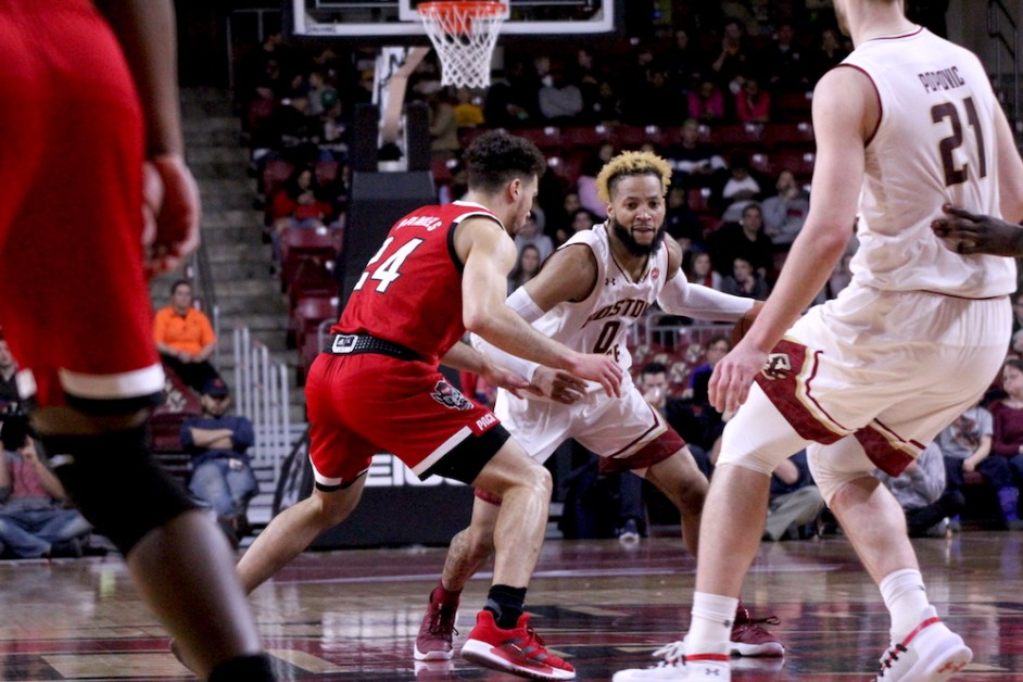 Offense Falters, BC Blown Out by Visiting N.C. State on Senior Day