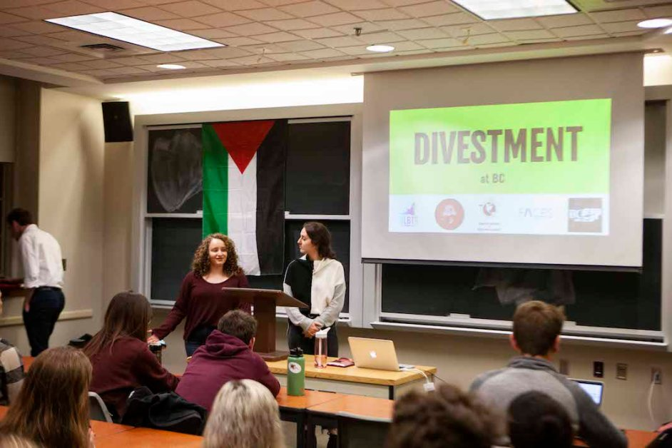 Student Groups Come Together for 'Divestment 101'