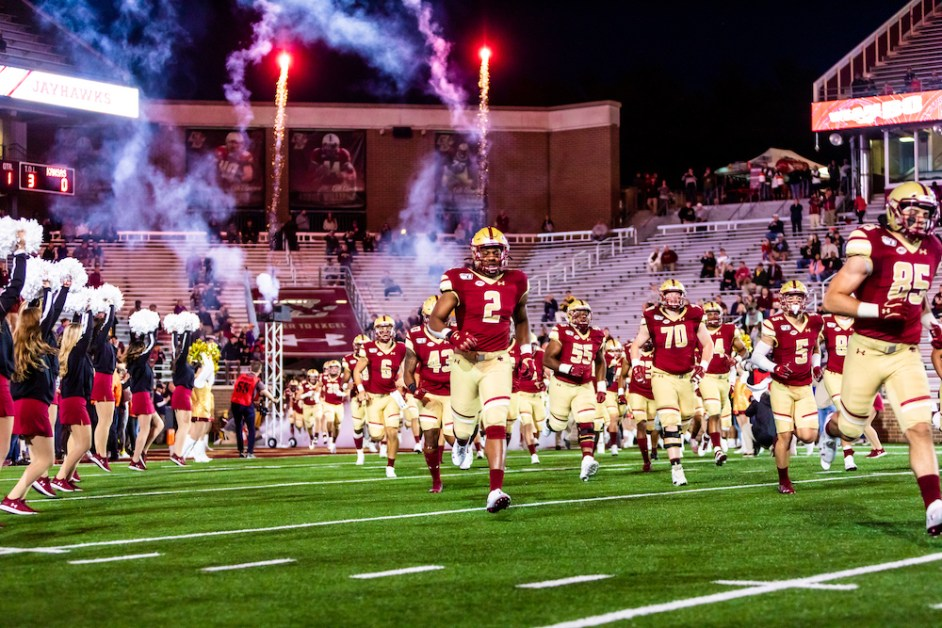 BC Football Releases Updated 2020 Schedule