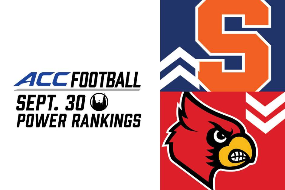ACC Power Rankings: Top Teams Solidify Their Spots
