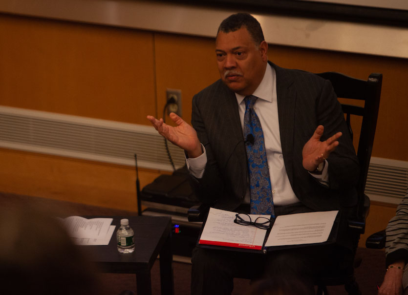 Rougeau Discusses Need for Conversations on Race Through Racial Justice Forum