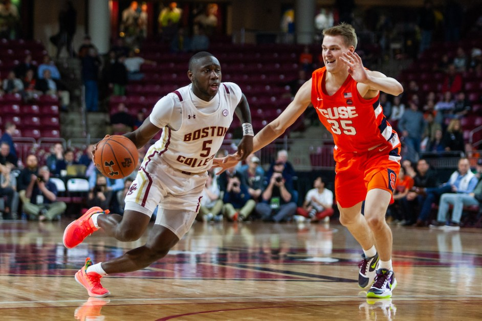 Syracuse Drops the Hammer on BC in Home Opener