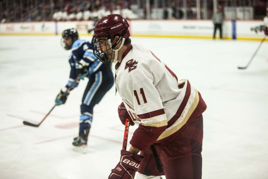 Eagles Notch 59 Shots To Shut Out Black Bears, Sweep Series