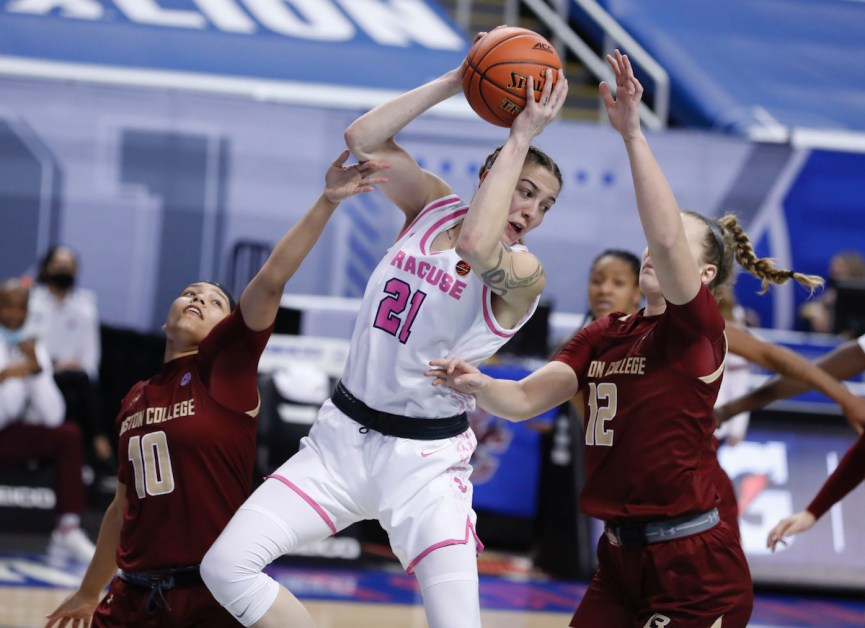 Eagles' Playoff Hopes End With Loss to Syracuse