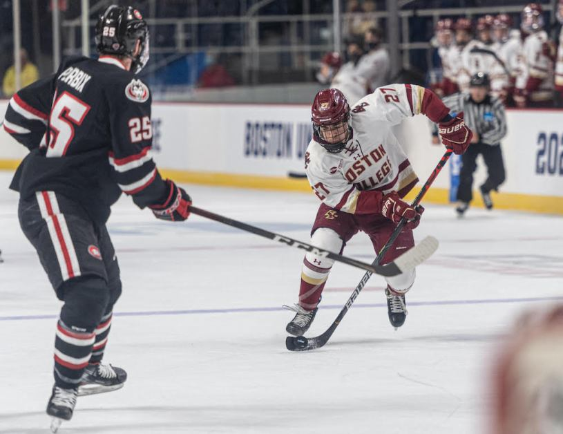 Notebook: Stoppages, Missed Opportunities Plague Eagles In Loss To Huskies