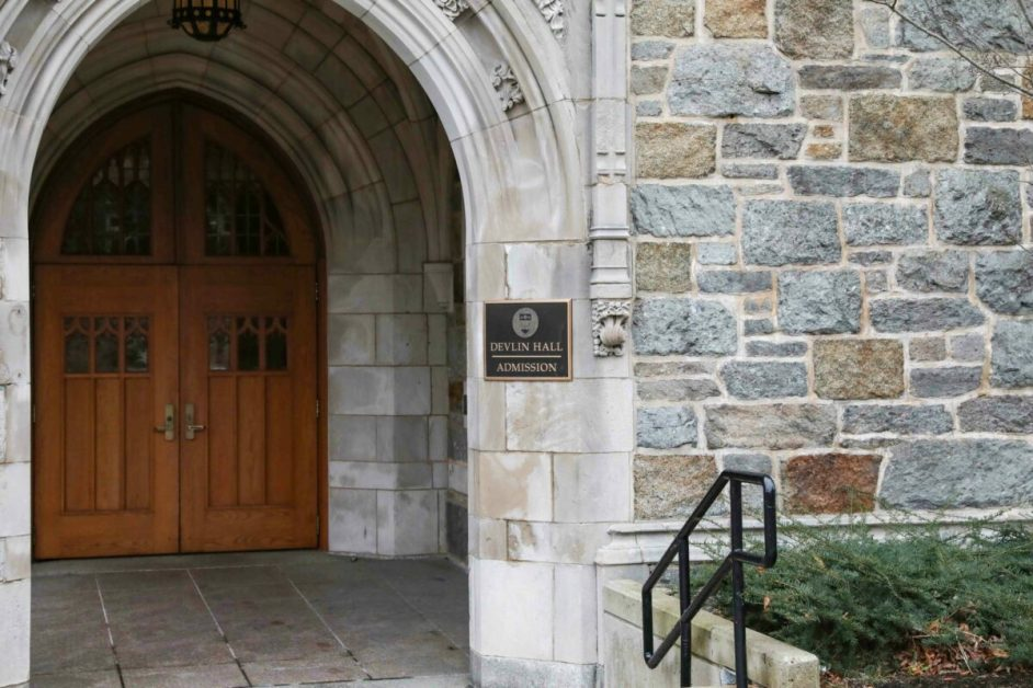 Boston College Welcomes Admitted Students Back to Campus