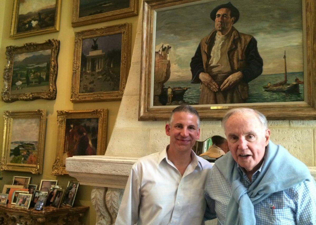 Christian Dupont (left) and Brian Burns. Image Courtesy of Christian Dupont.