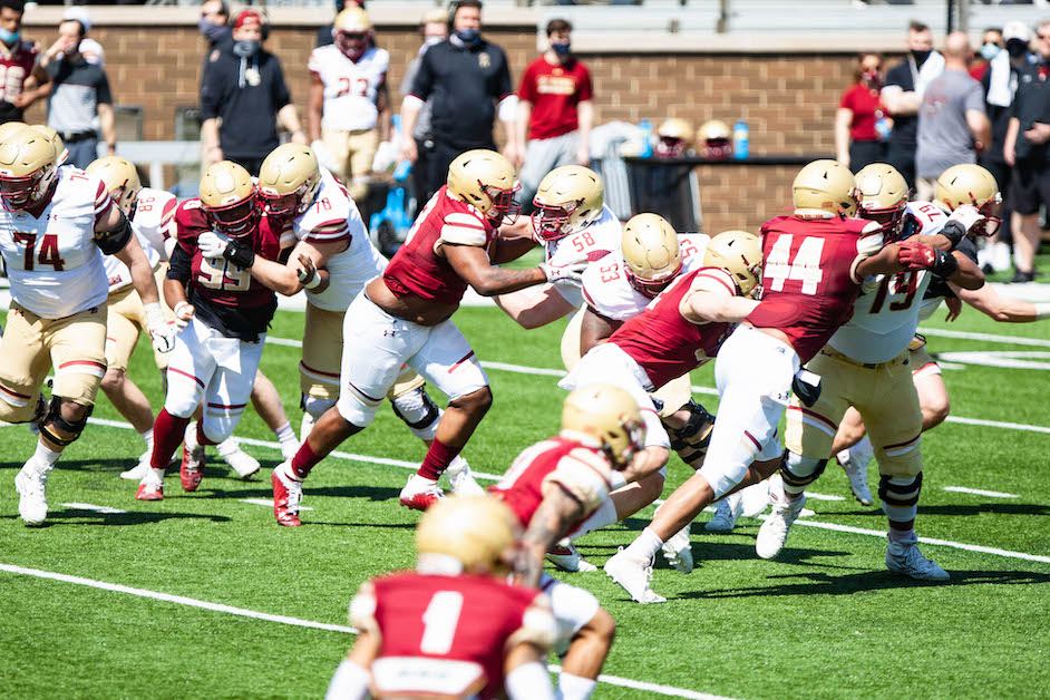 BC Depth Chart: What the Defense Looks Like Against Colgate
