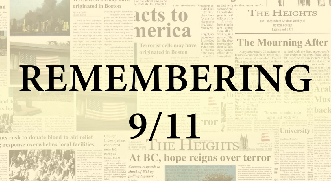 20 Years Later: Boston College Remembers Alumni Who Died on 9/11