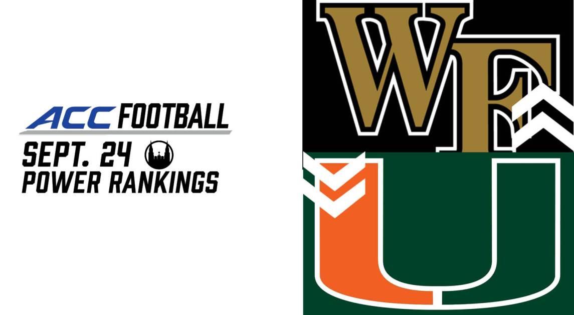 ACC Power Rankings Week Three: A Wide-Open ACC