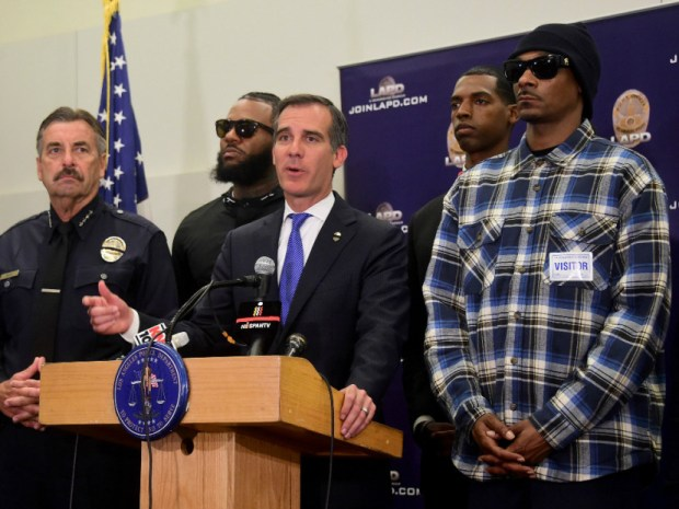The Game & Snoop Dogg Lead Peaceful Rally To Meet With LAPD Officers