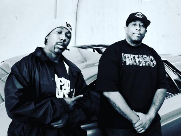 """Listen To MC Eiht & DJ Premier's Collaborative Album """"Which Way Iz West"""""""