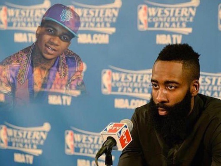 Lil B Ready To Lift Curse On Houston Rockets' James Harden After 39-Point Loss