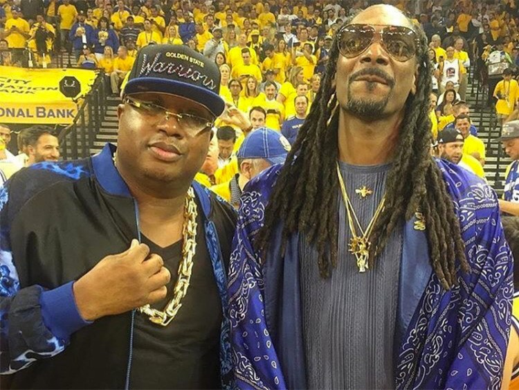 Snoop Dogg Showed Up To Game 5 Looking Like A Wizard