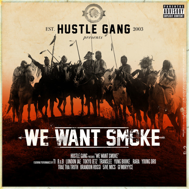 Hustle Gang's First Album