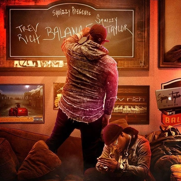 Trev Rich Drops Balance Album