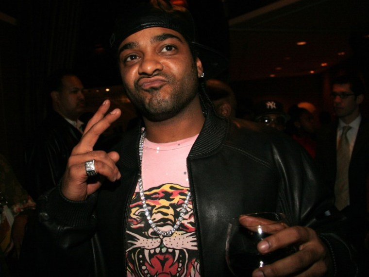 b7bd170ca49 Jim Jones Arrested On Drug Possession   Weapons Charges Following Police  Chase