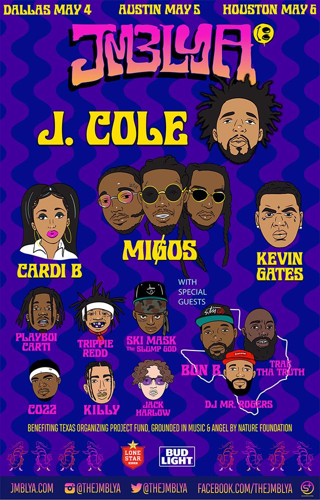 JMBLYA 2018 lineup poster