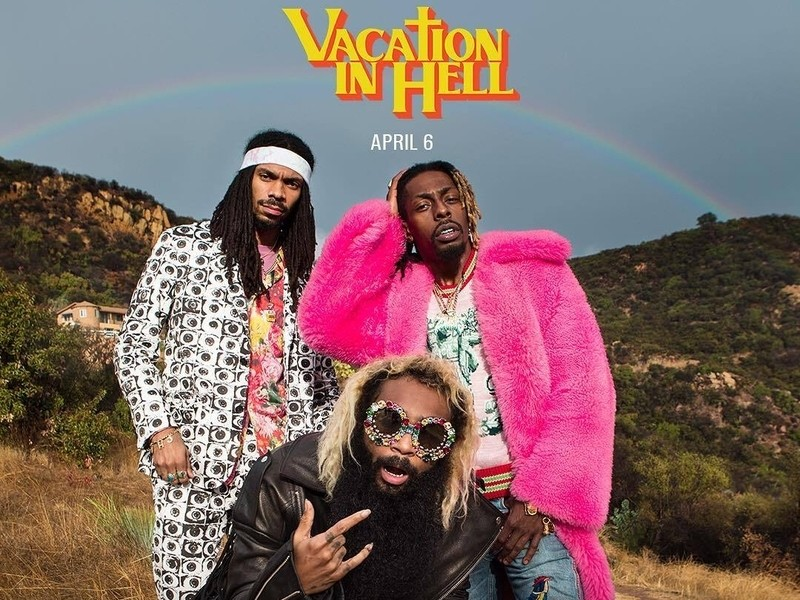 Image result for flatbush zombies vacation in hell
