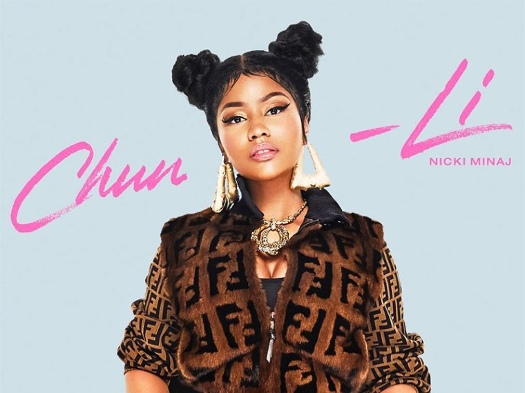 "Nicki Minaj Goes Full Selfie Mode For New ""Chun-Li"" Video"