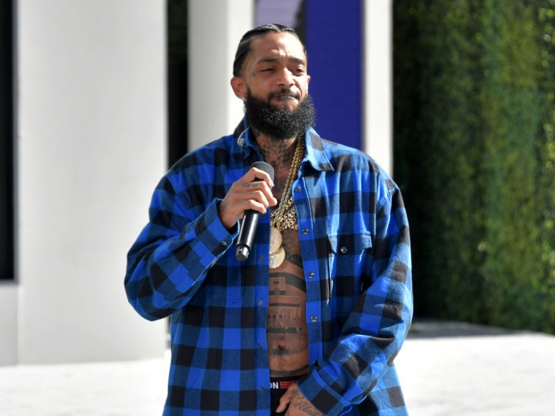 Nipsey Hussle Puts The Smack Down At 2018 BET Awards