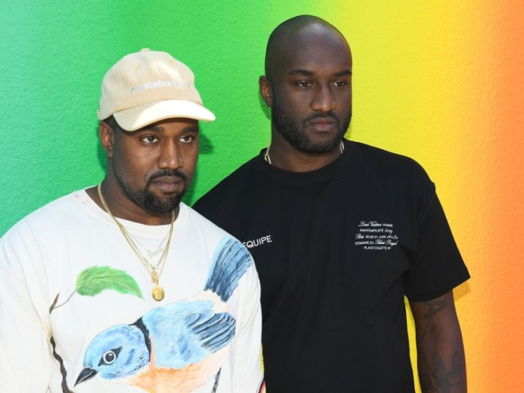 b439c5f779b Kanye West   Virgil Abloh Share Emotional Moment At Louis Vuitton Show