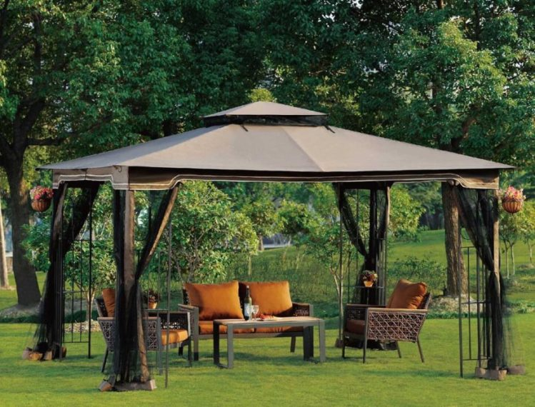 110 Gazebo Designs   Ideas   Wood  Vinyl  Octagon  Rectangle and More These portable gazebos are a great way to create a focal point or retreat  in your