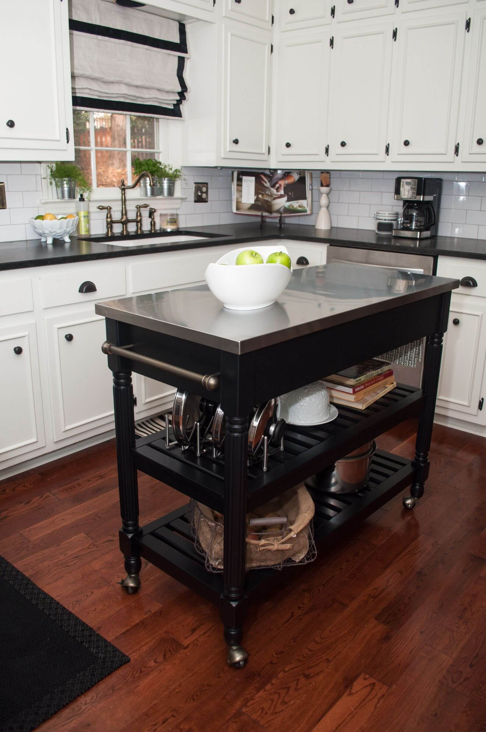 60 types of small kitchen islands & carts on wheels (2018)