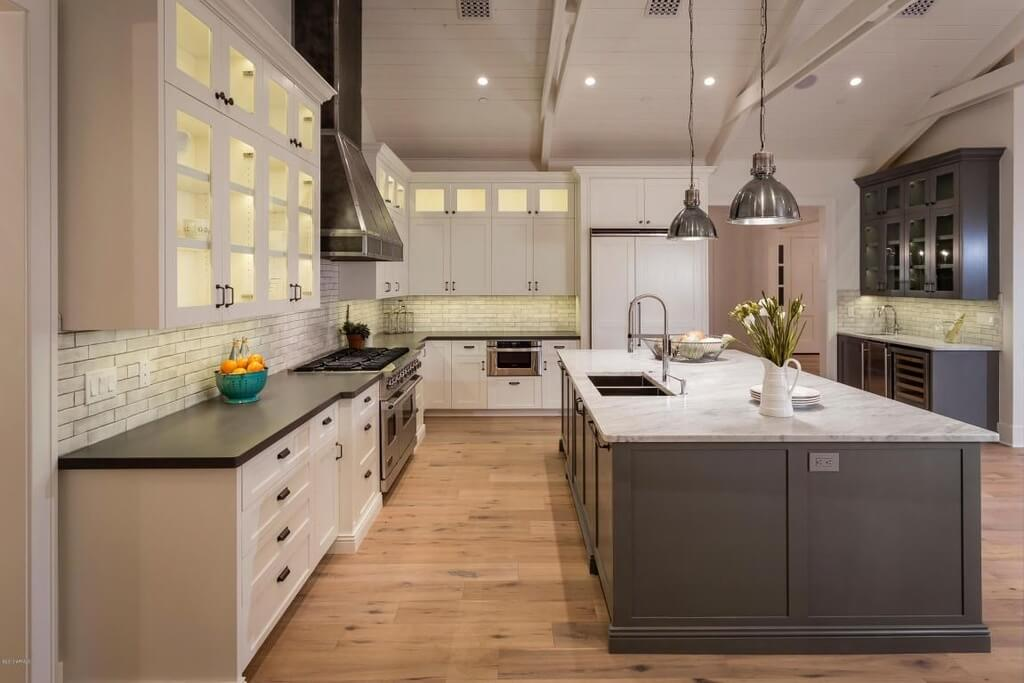 30 Custom Luxury Kitchen Designs that Cost More than  100 000 Build Your Ultra Chic Kitchen in a Cathedral Space