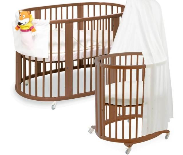 Round Baby Cribs