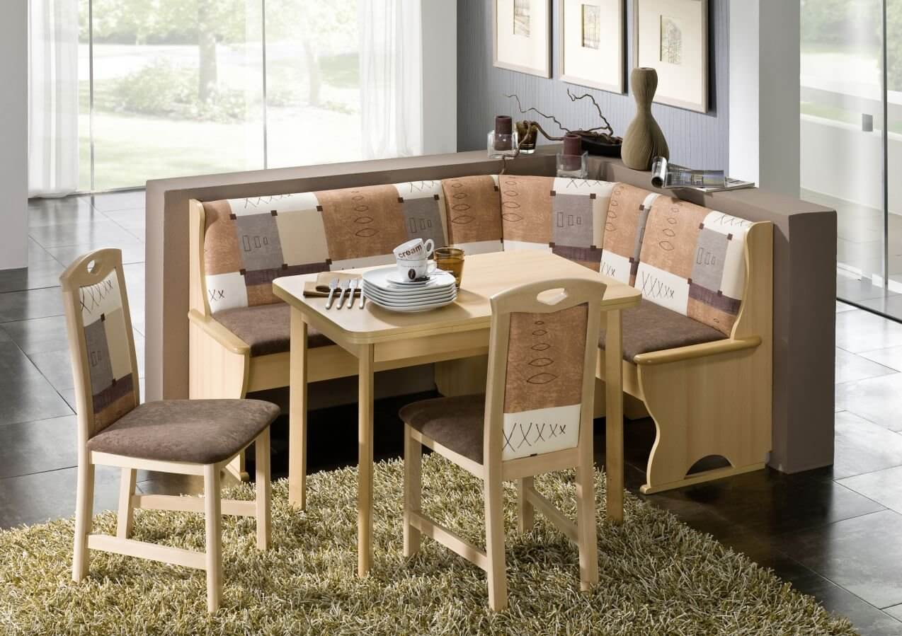 21 Space-Saving Corner Breakfast Nook Furniture Sets (BOOTHS