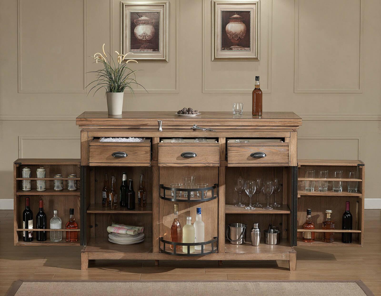 Built Bar Cabinet Ideas