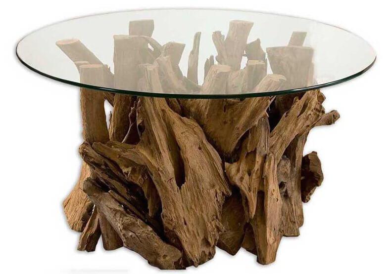 glass coffee table base ideas