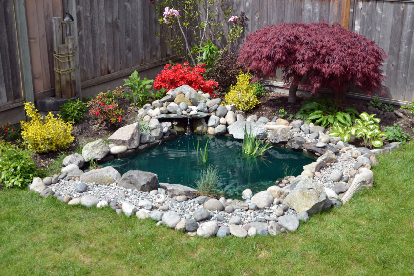 Small Garden Pond Ideas
