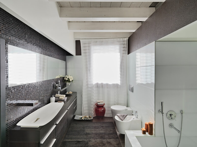 90 Master Bathrooms With Hardwood Flooring (Photos