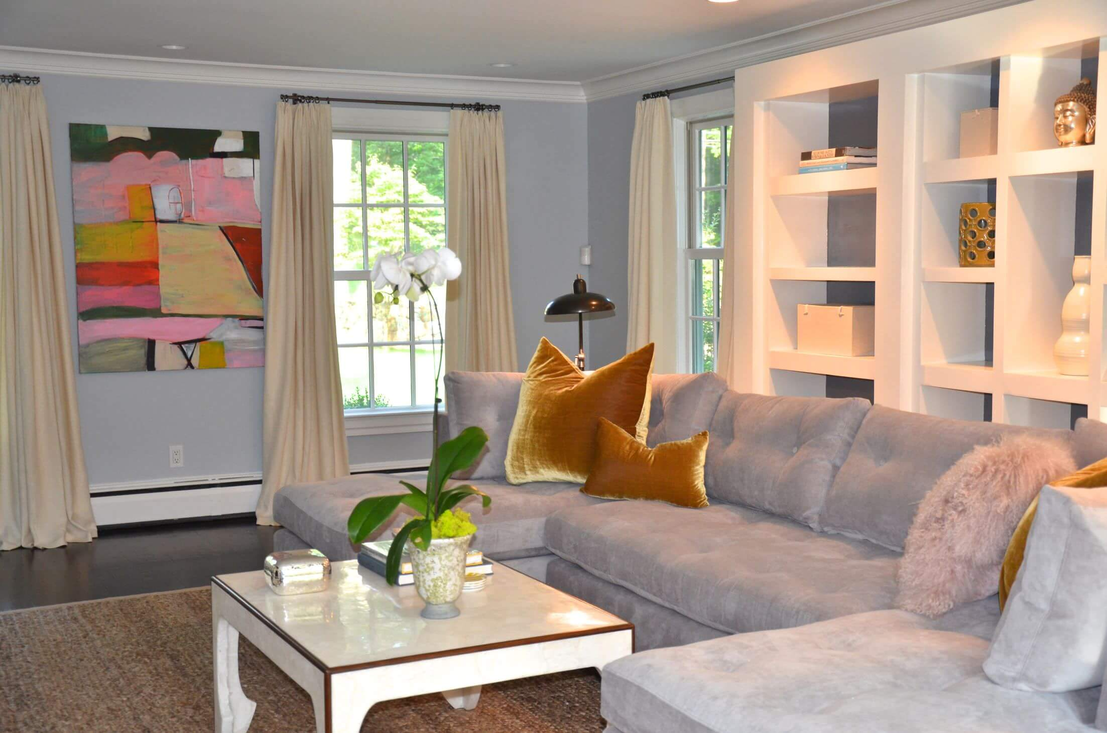 Best Living Room Colors For