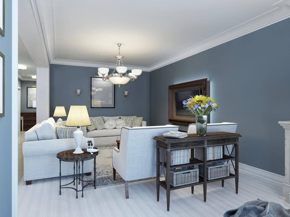Best Living Room Colors And Color Combinations (2019