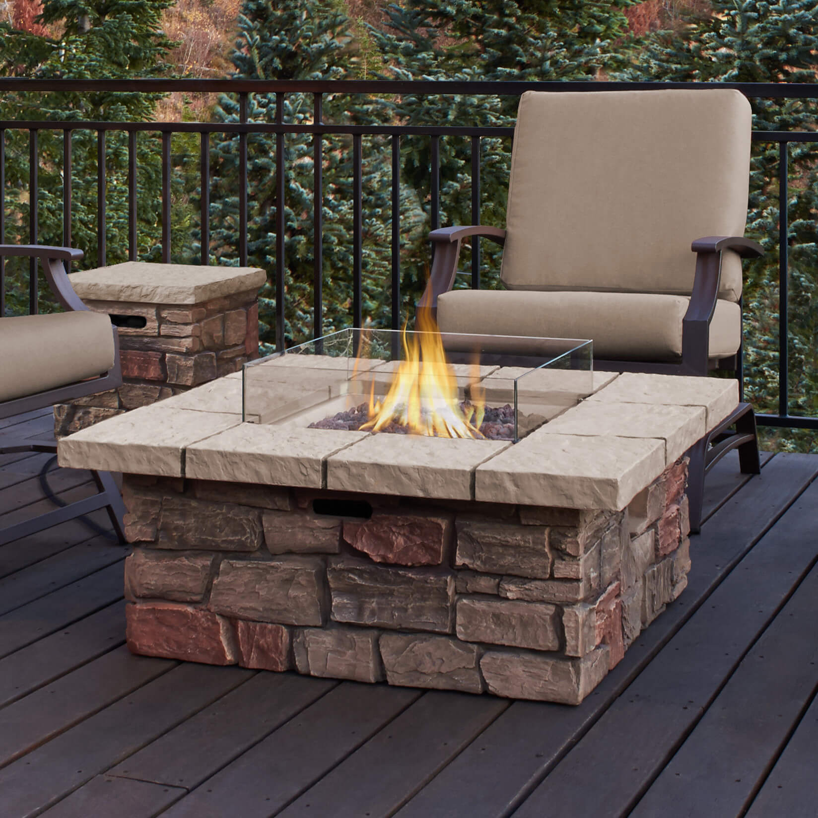 Outdoor Fire Pit Tables Propane