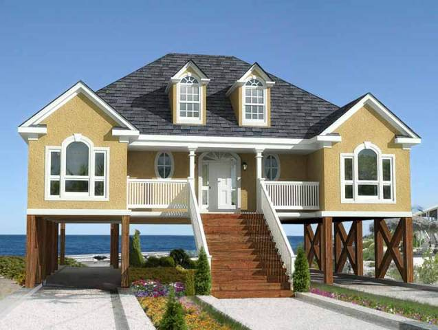 32 Types of Architectural Styles for the Home  Modern  Craftsman  etc   Beach Home Architecture