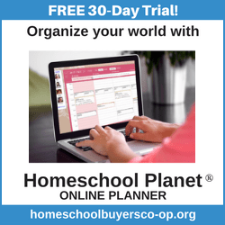 Homeschool Planet Online Planner