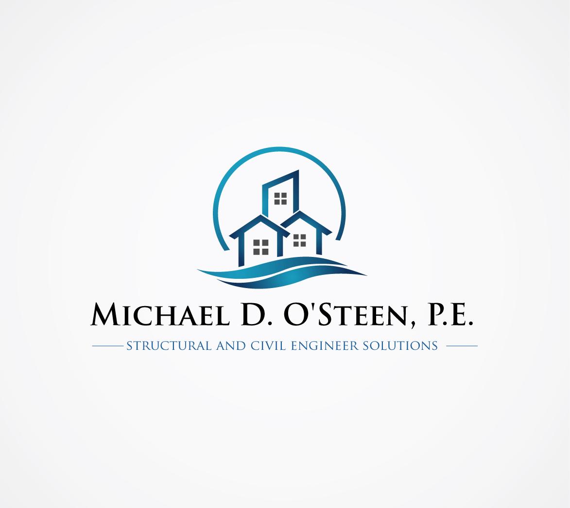 Michael D O Steen P E Logo Design