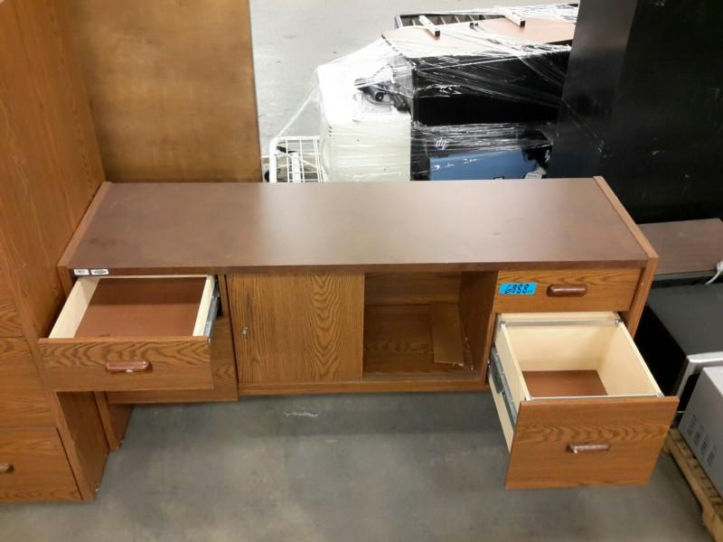 IBid Lot 6888 Credenza Amp File Cabinet