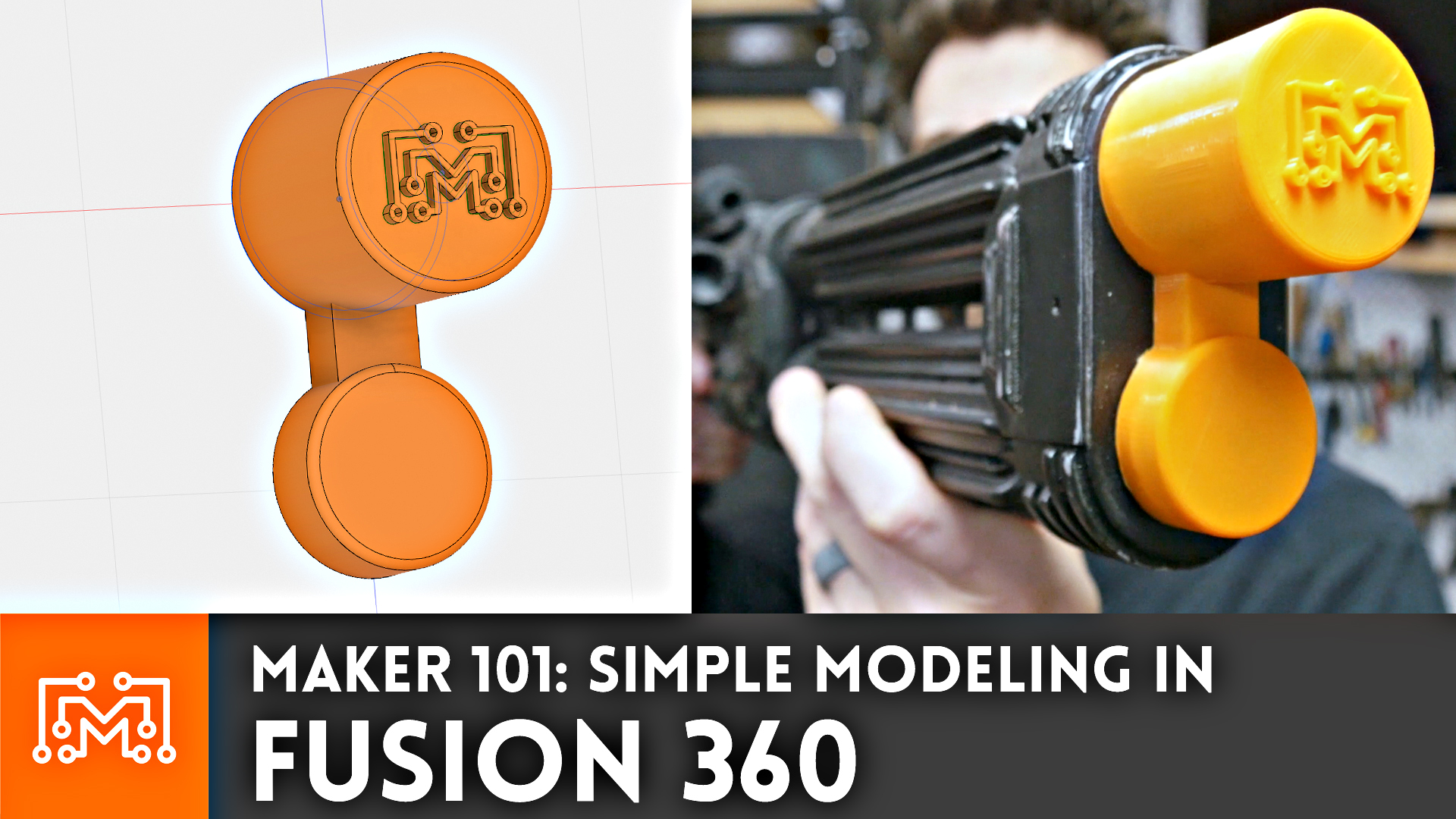 Maker 101 Simple Modeling In Fusion 360 For 3d Printing