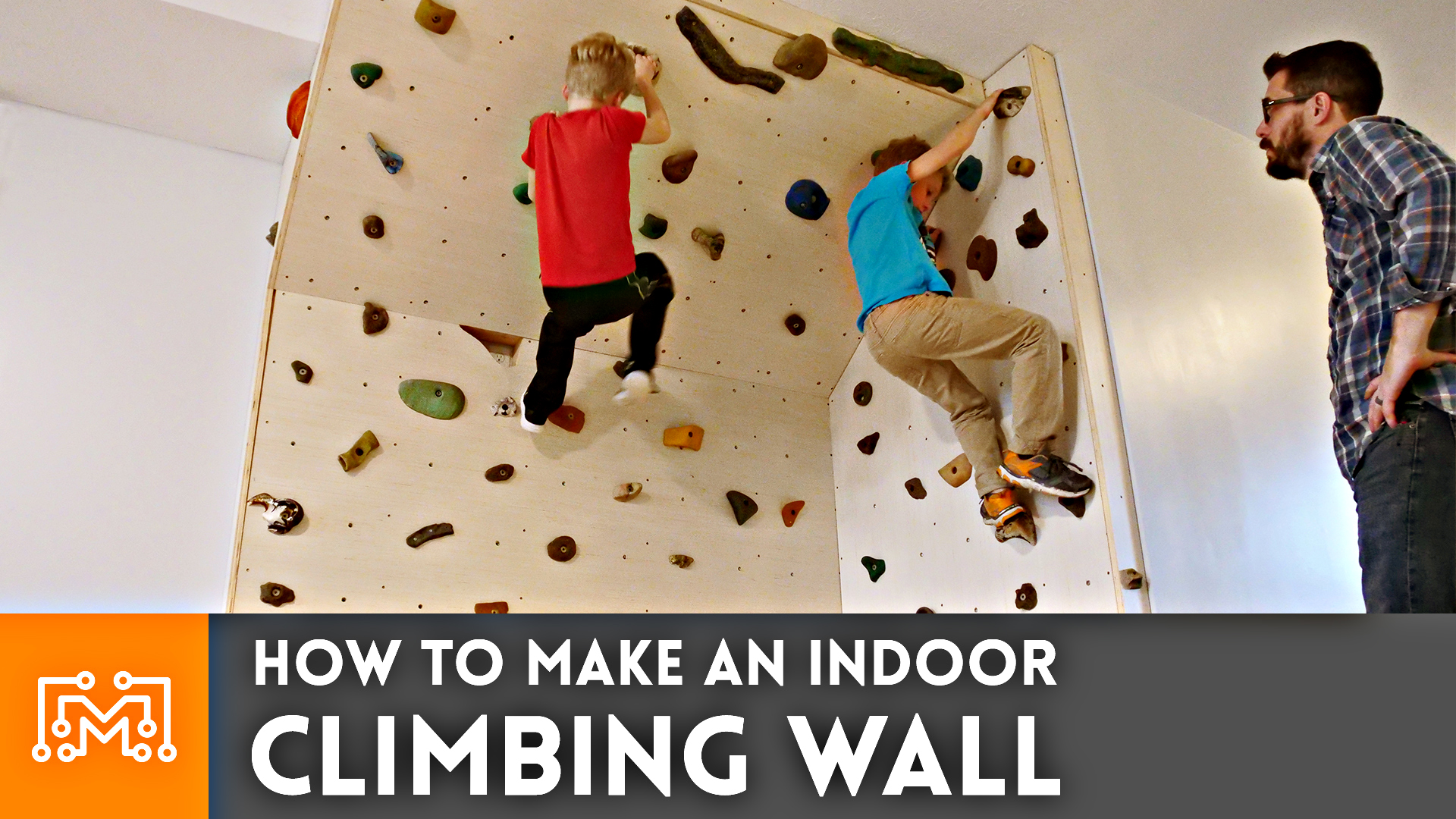 how to build a rock climbing wall for kids