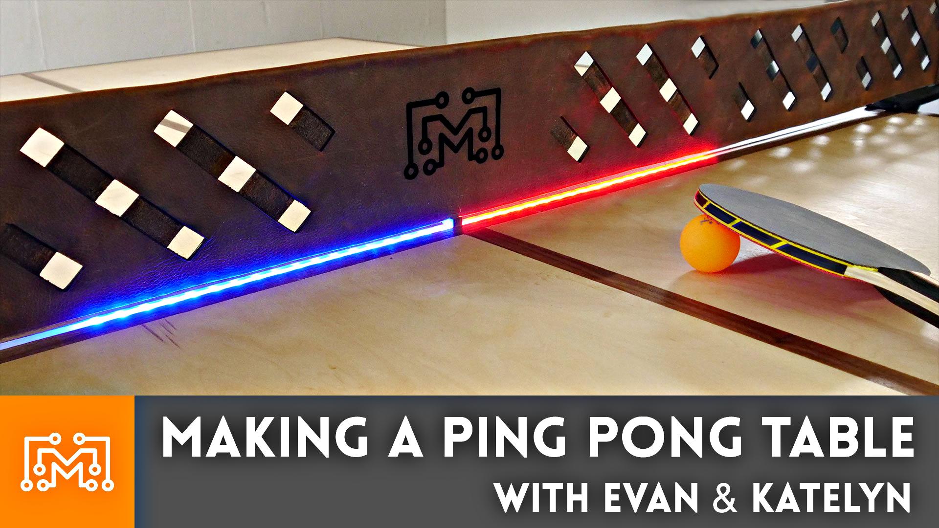How To Make A Ping Pong Table I Like To Make Stuff