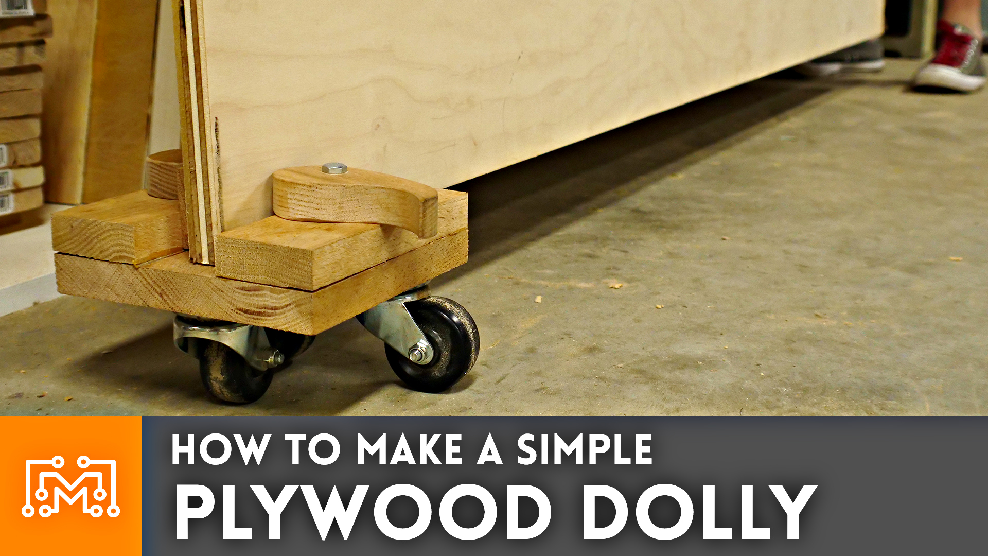 How To Make A Simple Plywood Dolly I Like To Make Stuff