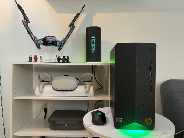 entry-level gaming desktop HP pavilion